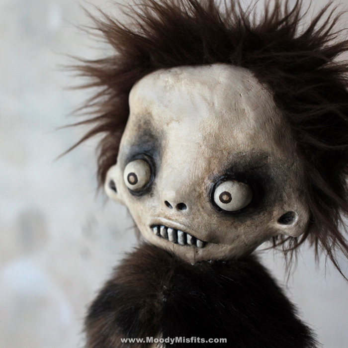 Creepy Monster Art