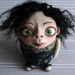 Clay Human Sculpture Doll