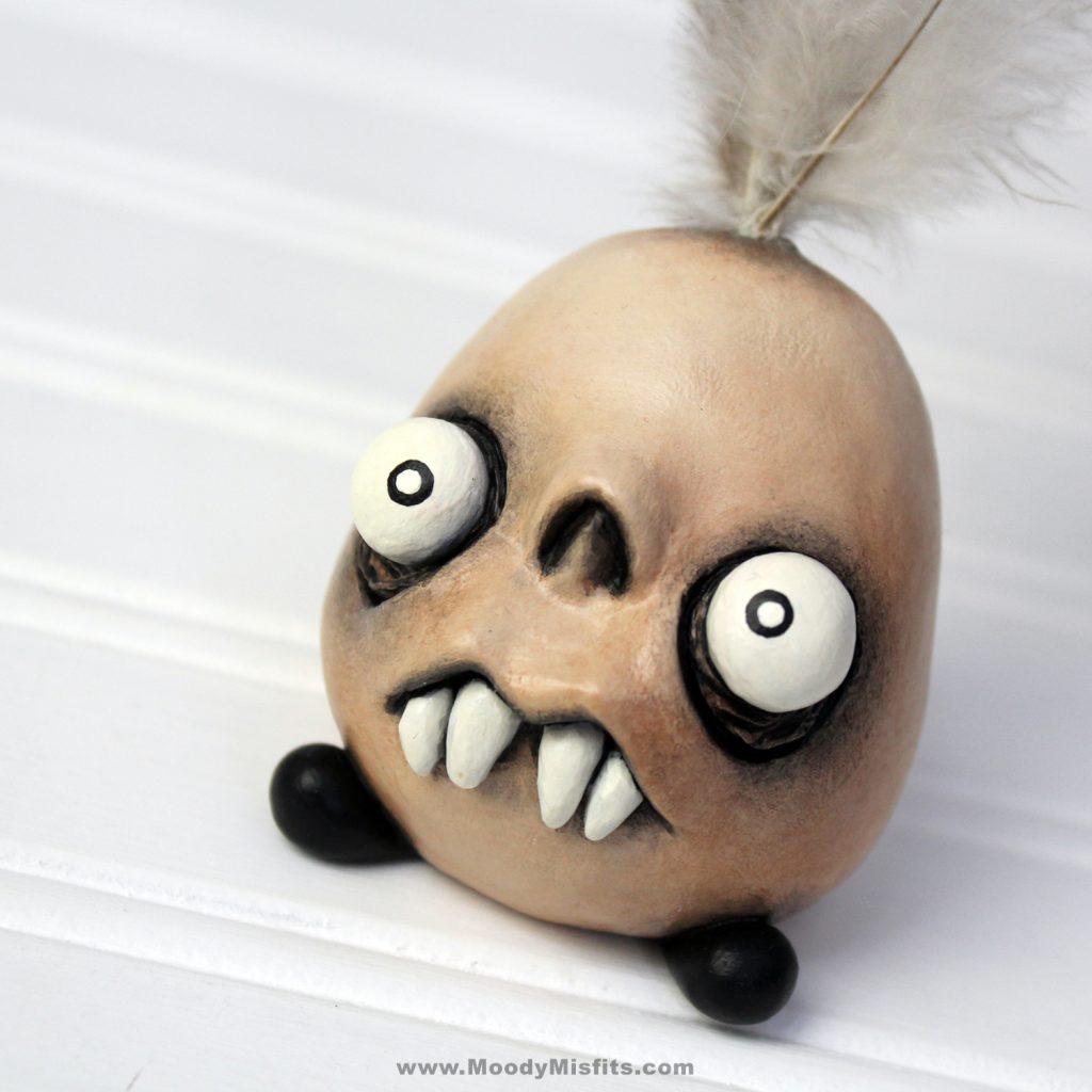Voodoo Doll Mini Monsters Handmade Witchcraft Art Figurines