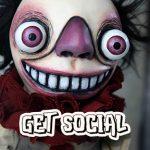 Gothic Creepy Handmade Dolls